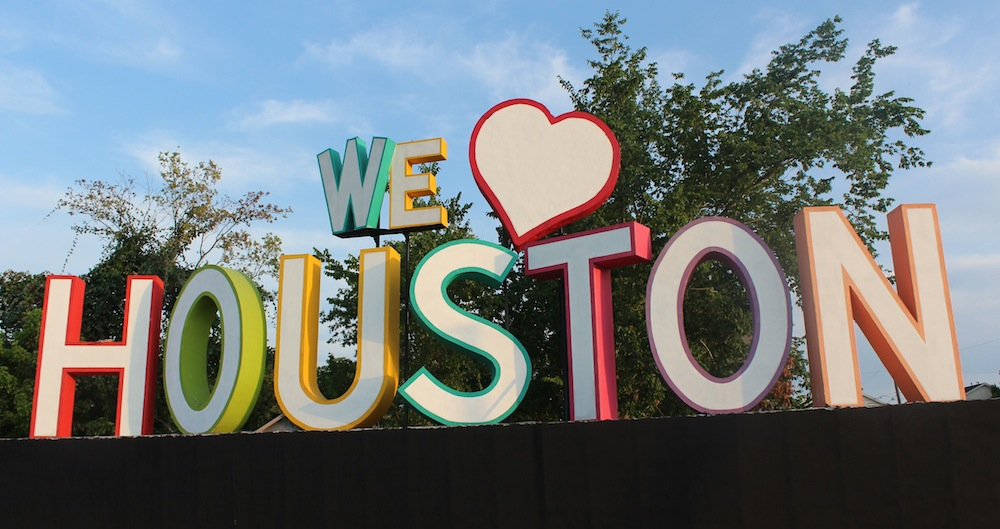 Houston Garden Center Katy We Love Houston Sign Location 365 Things To Do In Houston Family