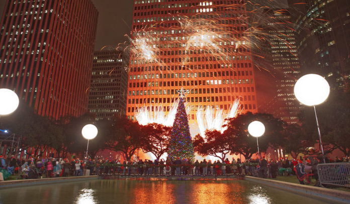 Mayor's Christmas Tree Lighting Houston