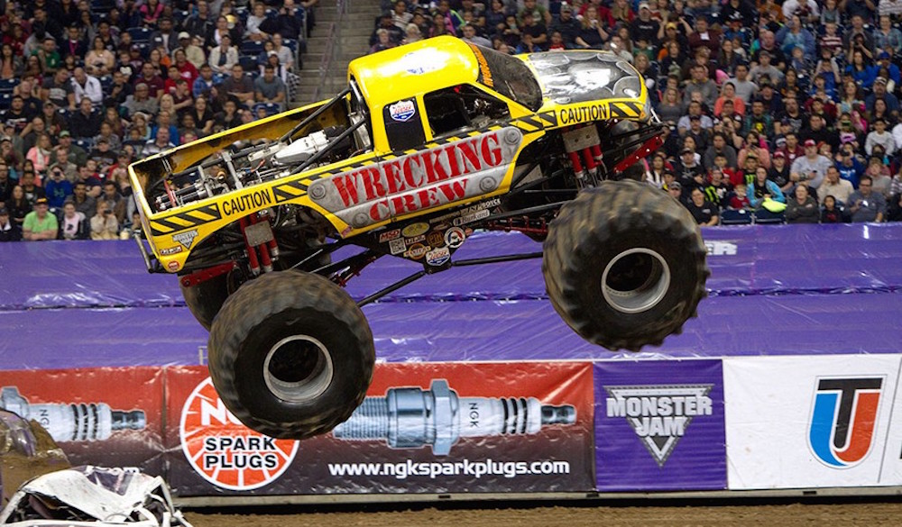 Monster Jam Photo Gallery from the first of two Stadium Championship Series 1 stops at NRG Stadium in Houston, Texas. Featuring Grave Digger, Max-D, Mutant, Whiplash, Megalodon, Big Kahuna, Xtermigator, Ice Cream Man, Avenger, El Toro Loco and more.