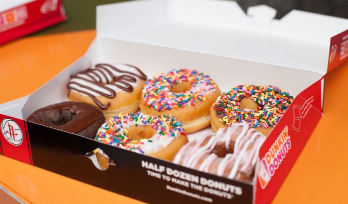 free donut day at dunkin donuts