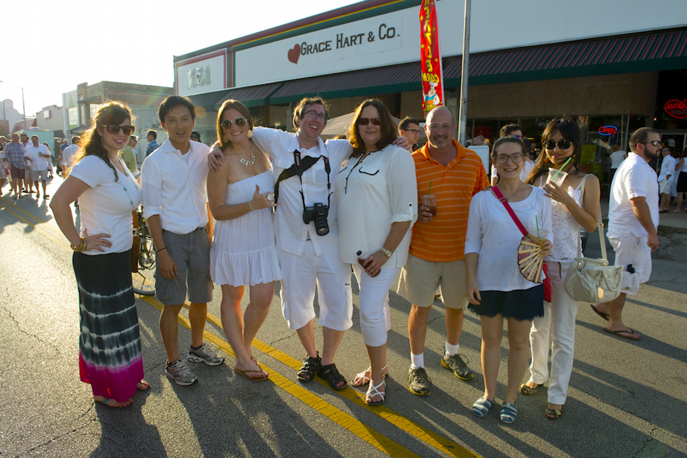 Photo courtesy of White Linen Night in the Heights