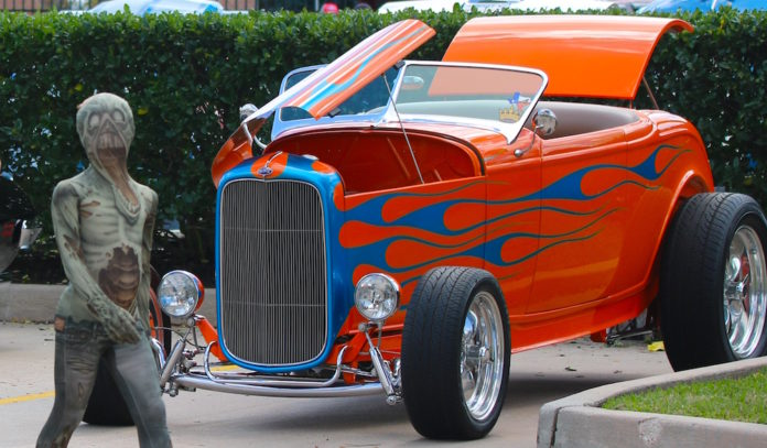 Annual Halloween Car Show At The Nmfh Houston