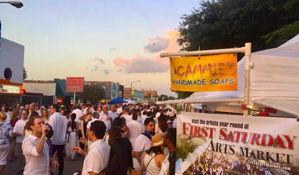 First Saturday Arts Market at White Linen Night in the Heights