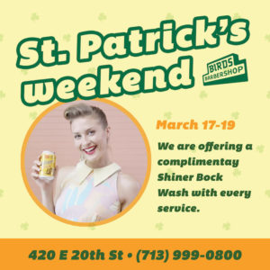 free-shinerwashes-st-patricks-weekend-birds-barbershop