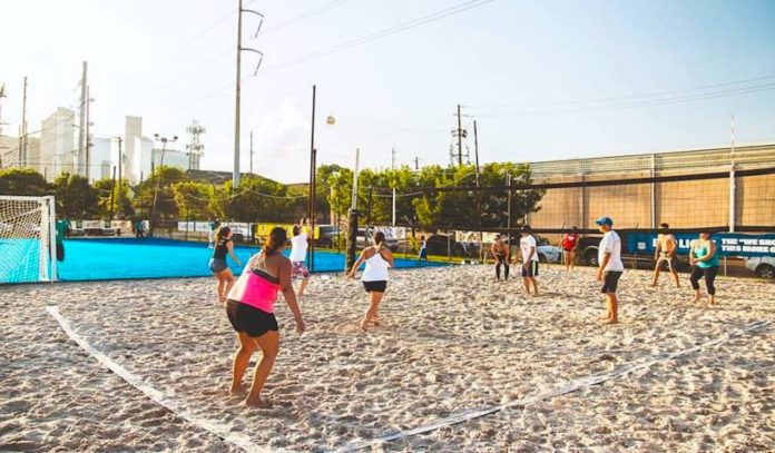 Beach Volleyball Fun