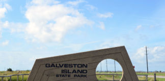 galveston-island-state-park-Entrance to the State Park