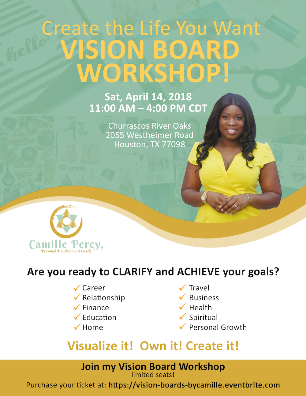 Vision Board Party Tickets, Sat, Jan 6, 2018 at 11:00 AM ... |Events Vision Board