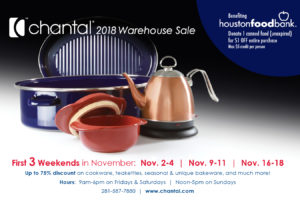 Chantal-Warehouse-Sale-2018