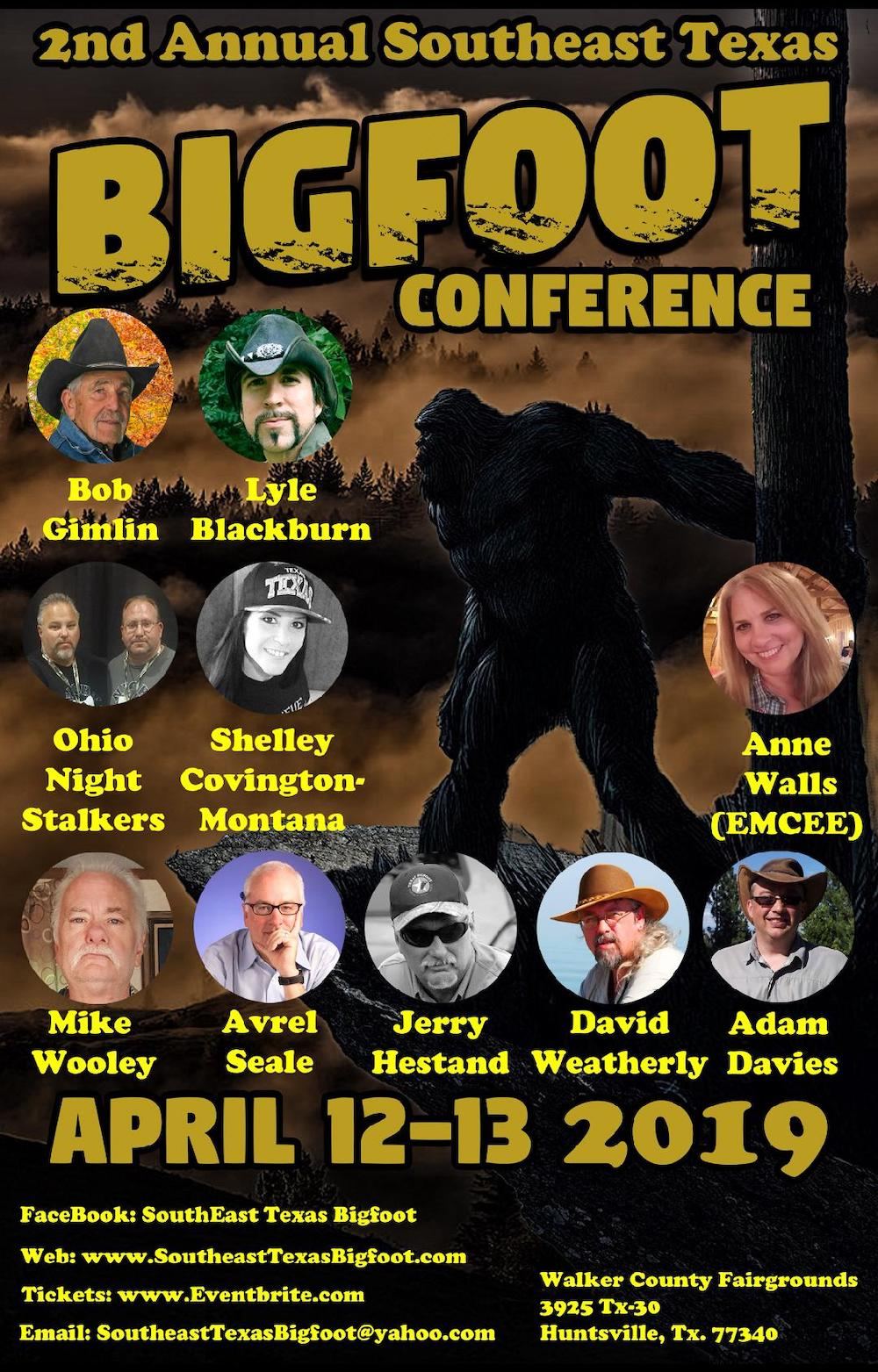 Walker County Fairgrounds Halloween 2020 2nd Annual Southeast Texas Bigfoot Conference at Walker County