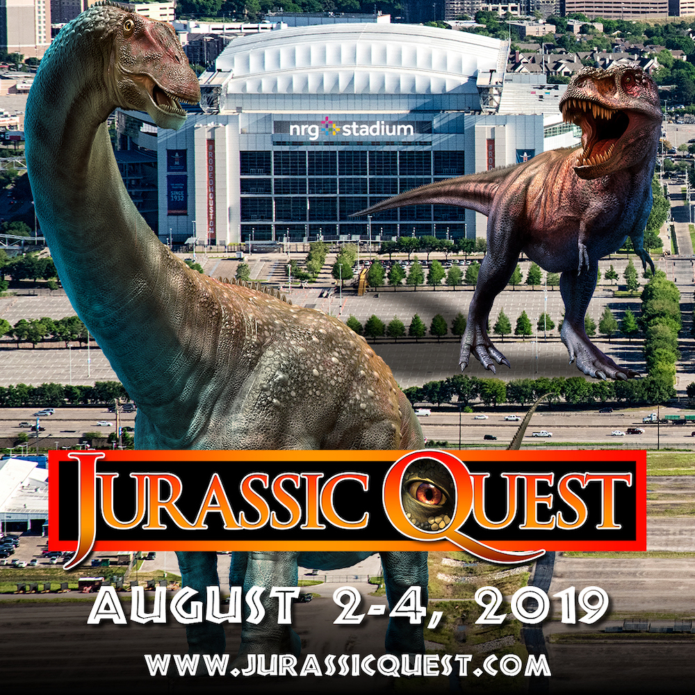 Jurassic Quest at NRG Park | 365 Things to Do in Houston
