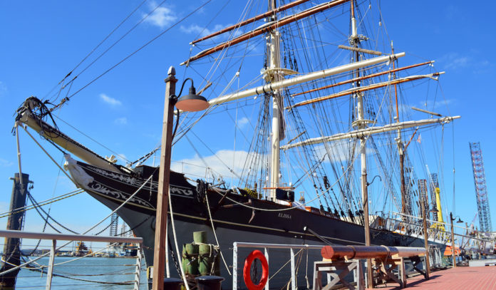 1877 tall ship Elissa self-guided tours